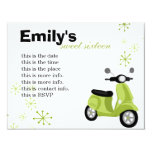 Green Scooter Card