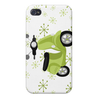 Green Scooter iPhone 4/4S Case
