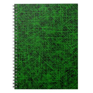 """Green """"Scratch"""" Notebook"""