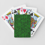 "Green ""Scratch"" Playing Cards"