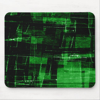 Green Scratches Mousepad
