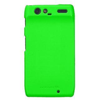 Green Screen Invisible Droid RAZR Cases