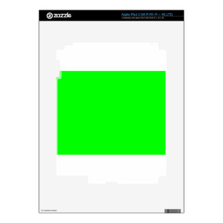 Green Screen Invisible Skins For iPad 3