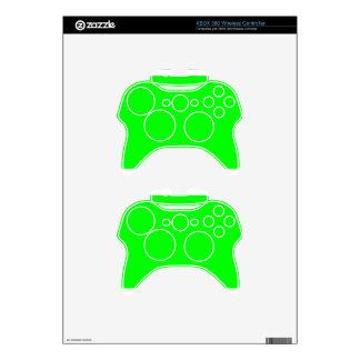Green Screen Invisible Xbox 360 Controller Skins