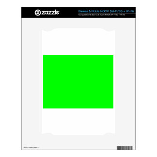 Green Screen Invisible Skins For The NOOK