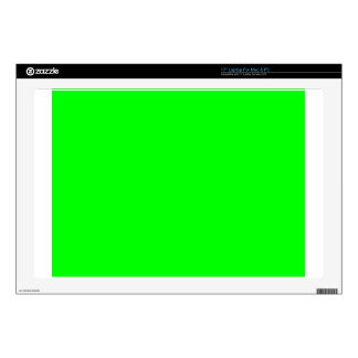 """Green Screen Invisible 17"""" Laptop Skin"""