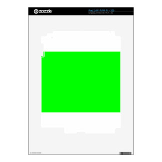 Green Screen Invisible Skins For The iPad 2