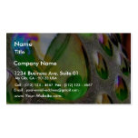 Green Scupture Mirrors Glass Double-Sided Standard Business Cards (Pack Of 100)