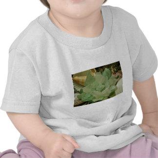 Green Sea Glass Flower T Shirts