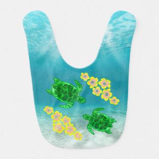 Green Sea Turltes Bib