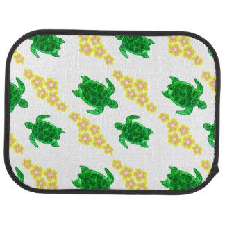 Green Sea Turltes Car Floor Mat