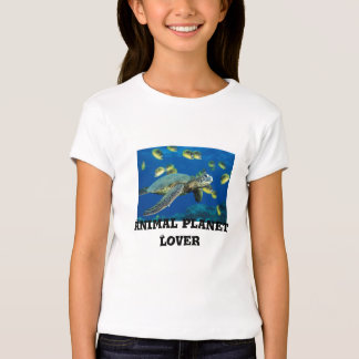 Green Sea Turtle, Animal Planet Lover T-Shirt