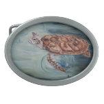 Green Sea Turtle Belt Buckle