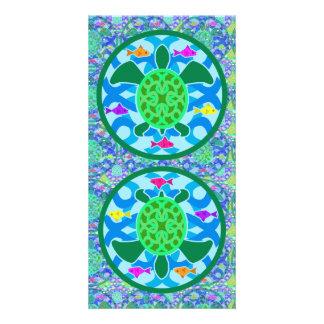 Green Sea Turtle Big Bookmark Card