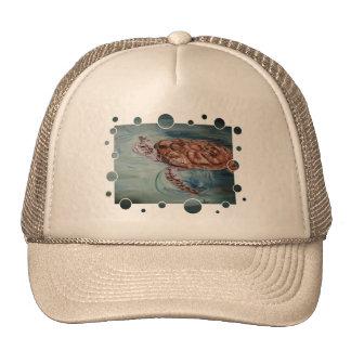 Green Sea Turtle bubbles Hat