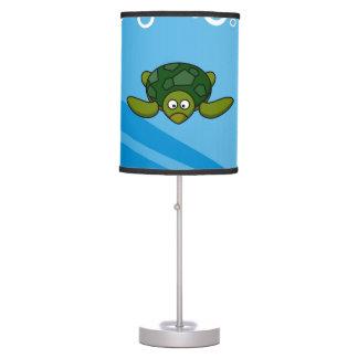 Green Sea Turtle Cartoon Desk Lamp