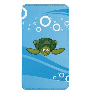 Green Sea Turtle Cartoon Galaxy S5 Pouch