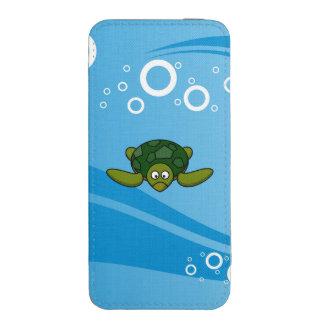 Green Sea Turtle Cartoon iPhone SE/5/5s/5c Pouch