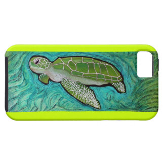 Green Sea Turtle iPhone 5 Cases