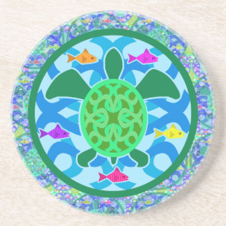 Green Sea Turtle Coaster