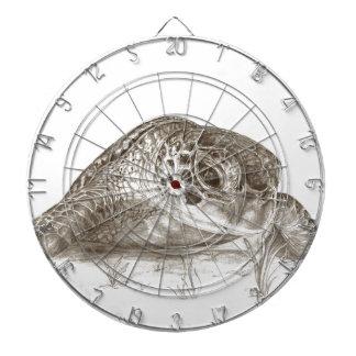 Green Sea Turtle Drawing Dart Board