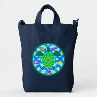 Green Sea Turtle Duck Bag