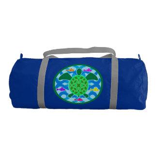 Green Sea Turtle Duffle Bag