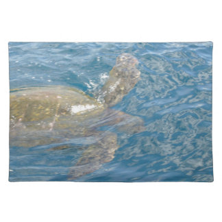Green Sea Turtle - Hawaii Honu Place Mat