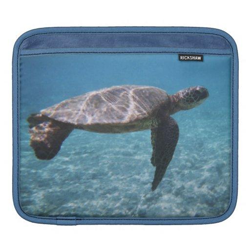 Green Sea Turtle iPad Sleeve