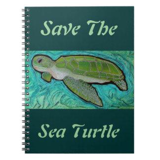 Green Sea Turtle Notebook