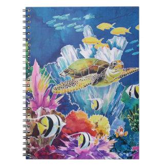 Green Sea Turtle Note Books