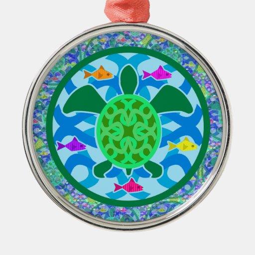 Green Sea Turtle Premium Ornament