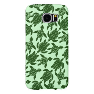 Green Sea Turtle Pretty Animal Pattern Samsung Galaxy S6 Case
