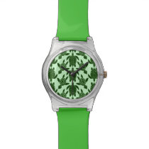 Green Sea Turtle Pretty Animal Pattern Wristwatch