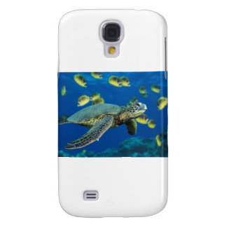 Green Sea Turtle Samsung Galaxy S4 Cover