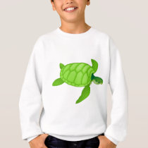 Green Sea Turtle Sweatshirt