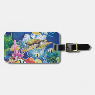 Green Sea Turtle Tags For Bags