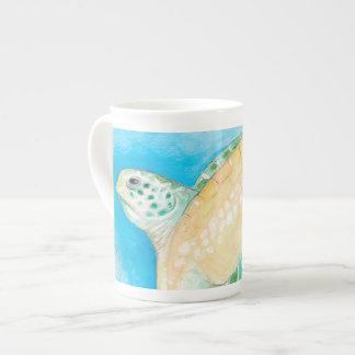 Green Sea Turtle Tea Cup