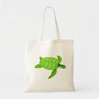 Green Sea Turtle Tote Bag