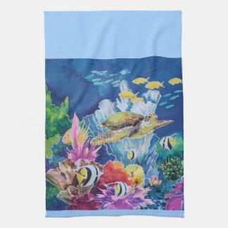 Green Sea Turtle Towel