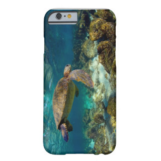 Green sea turtle underwater Galapagos Islands Barely There iPhone 6 Case