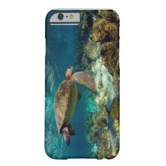 Green sea turtle underwater Galapagos Islands iPhone 6 Case