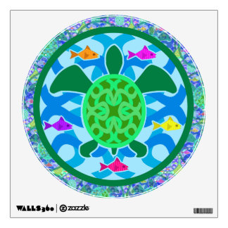 Green Sea Turtle Wall Decal