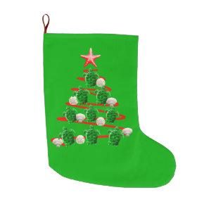 green sea turtles christmas tree large christmas stocking - Coastal Christmas Stockings