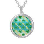 Green Sea Turtles Custom Necklace