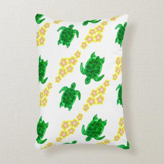 Green Sea Turtles Decorative Pillow