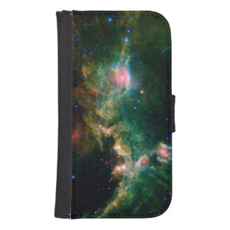 Green Seagull Nebula NASA Astronomy Phone Wallet