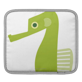 Green Seahorse Sleeve For iPads