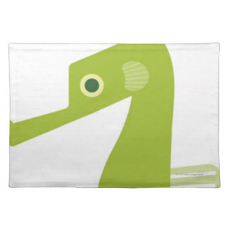Green Seahorse Placemat