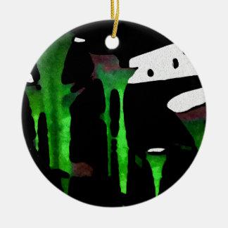 Green Sensation. Ceramic Ornament